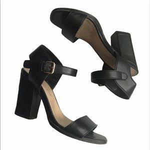 Madden Girl Strappy Block Heels